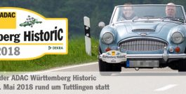 ADAC Württemberg Historic am 11.-12. Mai in Tuttlingen: große Oldtimer-Vielfalt Schmuckstücke wie aus dem Museum